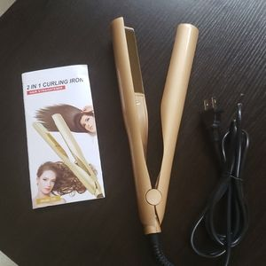 2 in 1 Curling Iron and Straighter